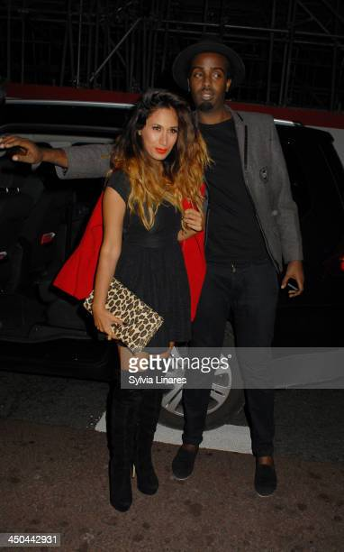 preeya Kalidas arriving at The Old Sorting Office on November 18 2013 in London England