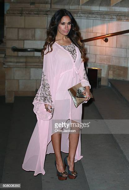 Preeya Kalidas attends a reception and dinner for supporters of The British Asian Trust at the Natural History Museum on February 2 2016 in London...