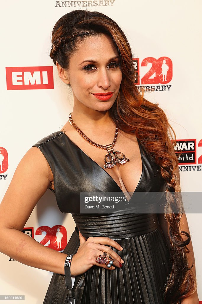 Preeya Kalidas attends the EMI & War Child Brits Aftershow Party at 02 Arena on February 20, 2013 in London, England.