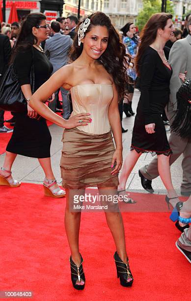 Preeya Kalidas attends the World Premiere of 421 at Empire Leicester Square on May 25 2010 in London England