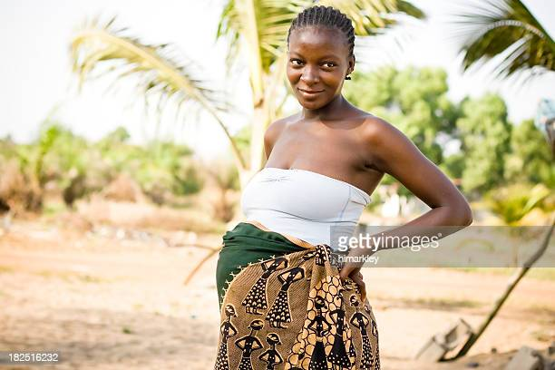 Pregnant African Woman