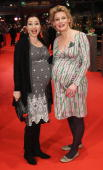 Pregnant Loretta Stern and Eve Maren Buechner attend 'The Ghost Writer' Premiere during day two of the 60th Berlin International Film Festival at the...