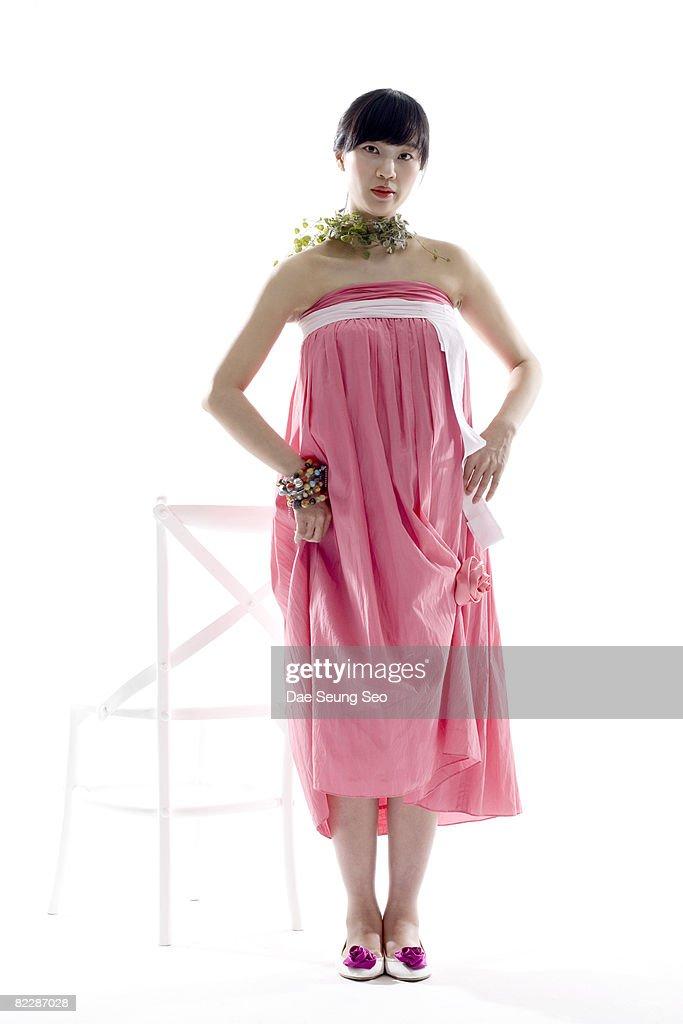 Pregnant woman : Stock-Foto