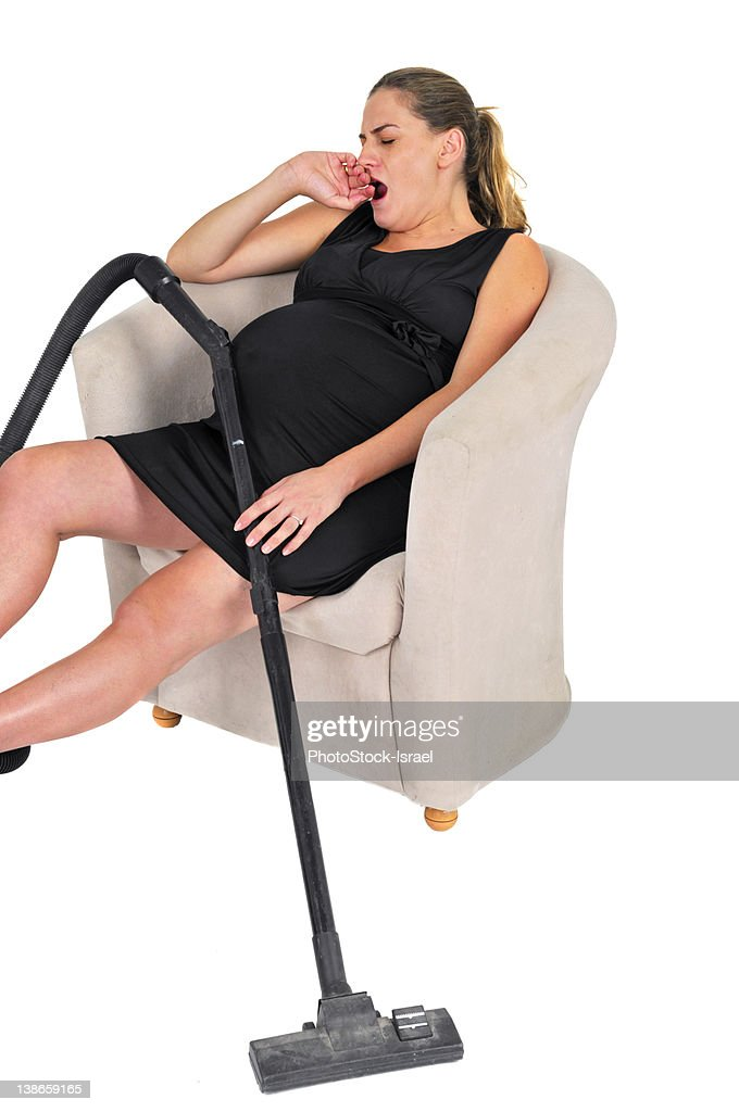 pregnant woman resting : Stock Photo