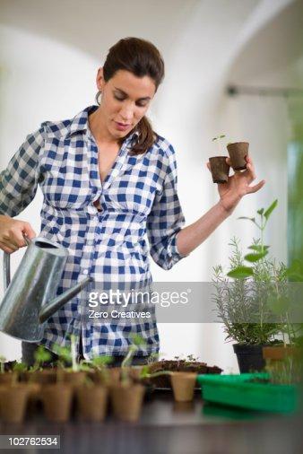 Pregnant Gardening 74