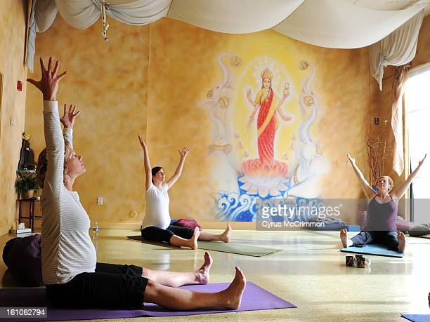 yoga met lef