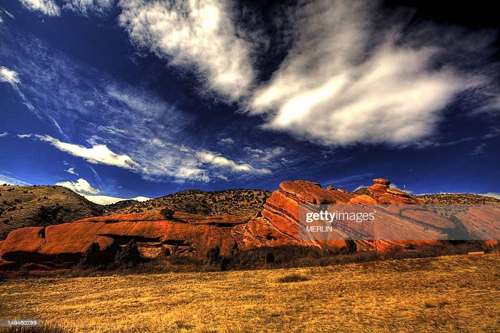 Prehisstoric rock formation