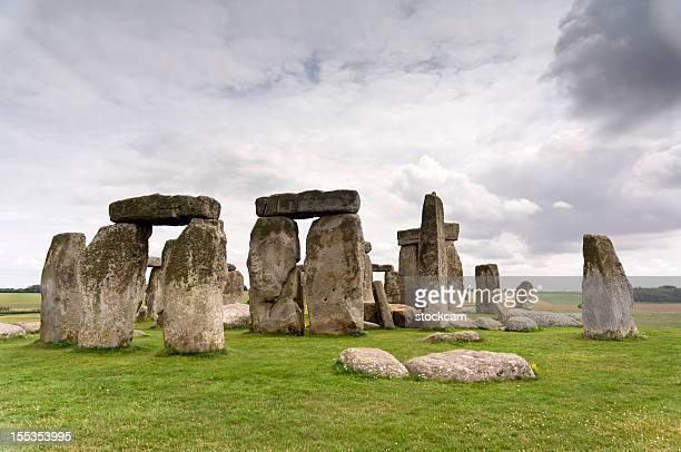 有史以前のイギリスのストーンヘンジ
