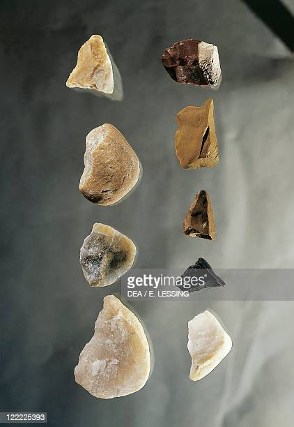Prehistory Hungary Stone tools from Vertes Szoelles