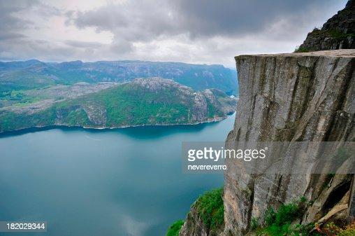 Preikestolen (Pulpit Rock) and Lysefjord, Norway