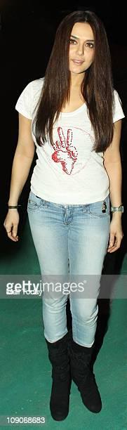 Preity Zinta at rock star Bryan Adams Live in Concert India Tour at MMRDA Grounds Bandra Kurla Complex in Mumbai