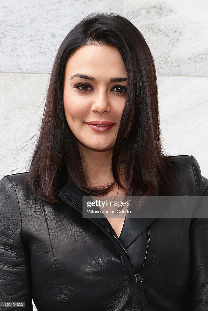 <a gi-track='captionPersonalityLinkClicked' href=/galleries/search?phrase=Preity+Zinta&family=editorial&specificpeople=630257 ng-click='$event.stopPropagation()'>Preity Zinta</a> attends the Roberto Cavalli fashion show during Milan Fashion Week Womenswear Fall/Winter 2013/14 on February 22, 2013 in Milan, Italy.