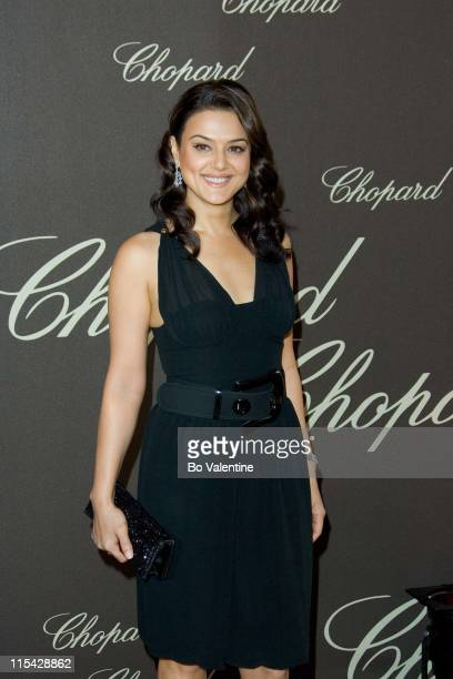 Preity Zinta during 2006 Cannes Film Festival Chopard at Cannes at Nikki Bea Chopard Carlton Hotel in Cannes France