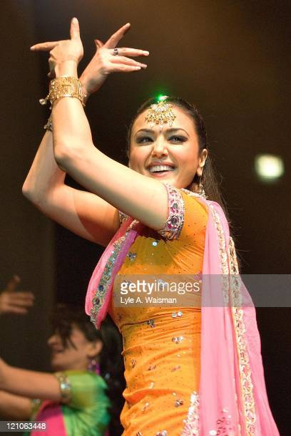 Preity Zinta during Bollywood Heat Live 2006 at the UIC Pavilion in Chicago April 24 2006 at UIC Pavilion in Chicago Illinois United States