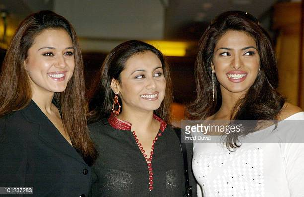 Preity Zinta Rani Mukherji and Priyanka Chopra