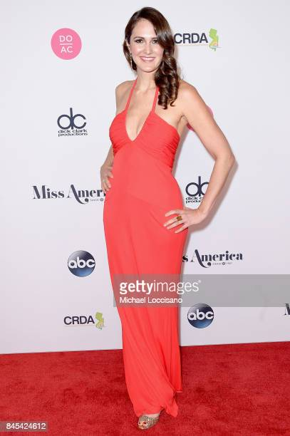 Preliminary Judge Entertainment Lawyer Carolyn Conrad attends the 2018 Miss America Competition Red Carpet at Boardwalk Hall Arena on September 10...