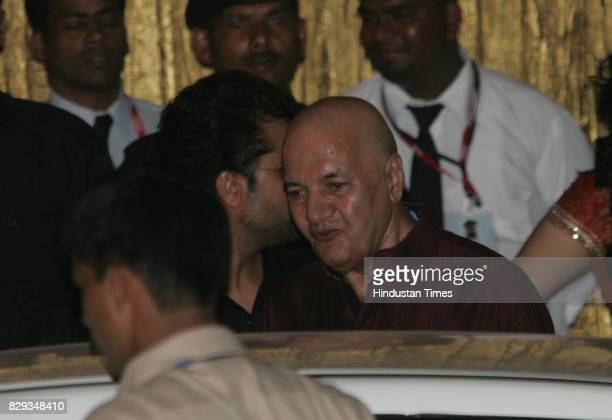 Prem Chopra at the wedding of Aishwarya and Abhishek Bachchan