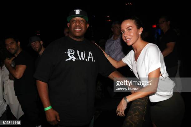 Premier and Crystal Hammerstein attend the Rag'n'Bone Man concert at Webster Hall on August 2 2017 in New York City