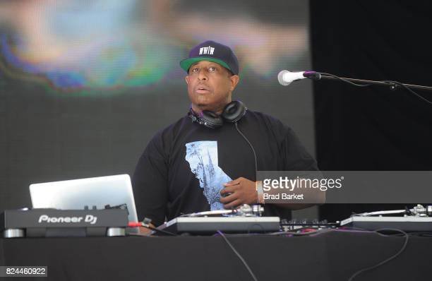 Premier attends the City Parks Foundation SummerStage Presents Rock Steady Crew 40th Anniversary at SummerStage at Rumsey Playfield Central Park on...
