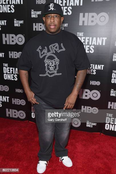Premier attends 'The Defiant Ones' New York premiere at Time Warner Center on June 27 2017 in New York City