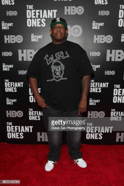 Premier attends 'The Defiant Ones' premiere at Time Warner Center on June 27 2017 in New York City