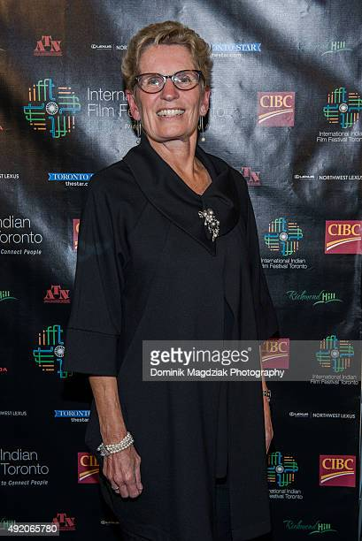 Premier of Ontario Kathleen Wynne attends the 'Beeba Boys' screening at IIFFT 2015 Opening Night Film and Gala Dinner at Aga Khan Museum on October 9...