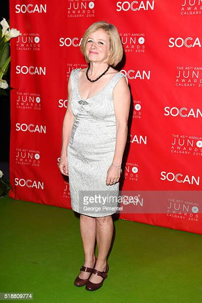 Premier Rachel Notley attends the 2016 Juno Gala Dinner And Awards at the Telus Convention Center on April 2 2016 in Calgary Canada