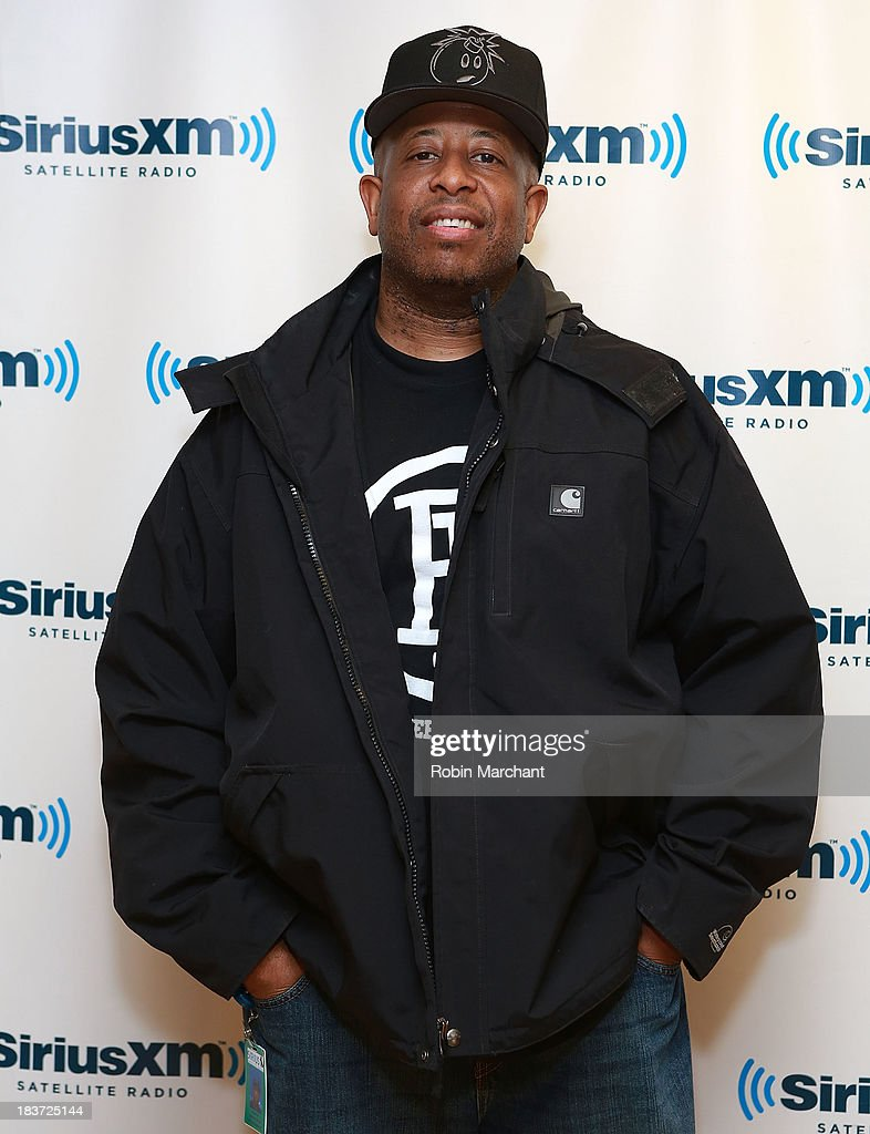 DJ Premier visits SiriusXM Studios on October 9, 2013 in New York City.