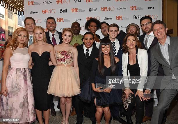REBORN Premiere at Toronto International Film Festival Pictured Francesca Eastwood Jack Coleman Danika Yarosh Zachary Levi Jimmy JeanLouis Noah...