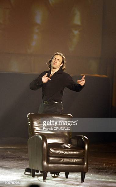 Premiere date of the farewell's tour of skater Philippe Candeloro 'Hello and Goodbye' in Lille France on February 01st 2008 Philippe Candeloro...