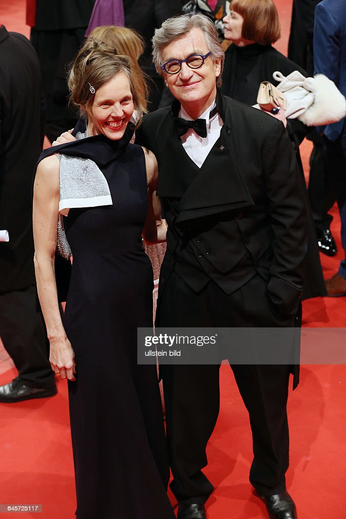 Premiere Everthing will be fine Berlinale Palast Wim Wenders and wife Donata