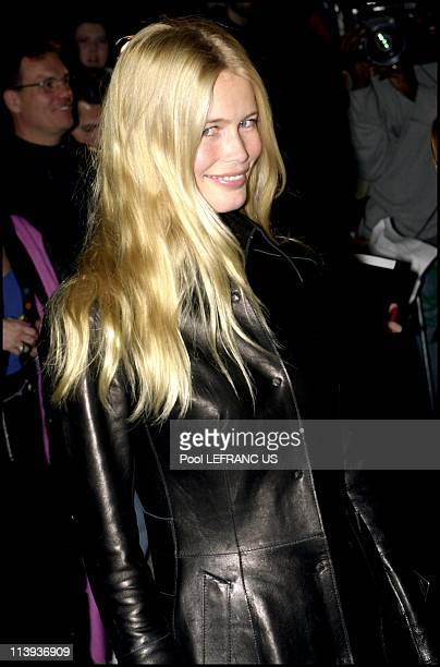 Premiere of 'Charlie's Angels' at the Ziegfeld theater In New York city United States On October 24 2000Claudia Schiffer