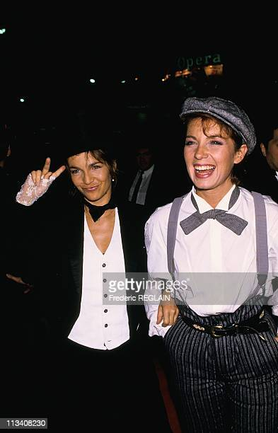 Premiere Of 'Les Incorruptibles' On October 20th 1987 In ParisFrance