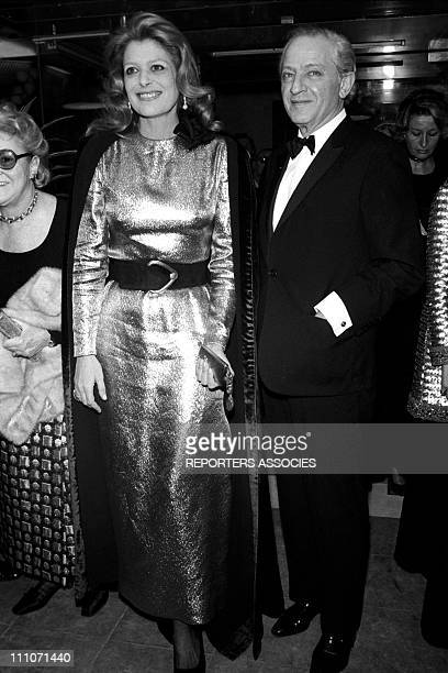 Premiere Of 'Promise At Dawn' Melina Mercouri With Jules Dassin In France On November 27 1970