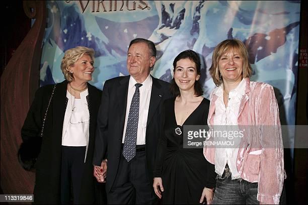 Premiere Of The Film 'Asterix Et Les Vikings' At The Cinema Rex In Paris On March 31St 2006 In Paris France Here Madame Uderzo Albert Uderzo Anne...