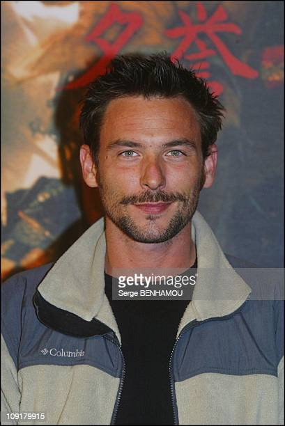 Premiere Of 'The Last Samurai' In Paris On January 9 2004 In Paris France Sagamore Stevenin