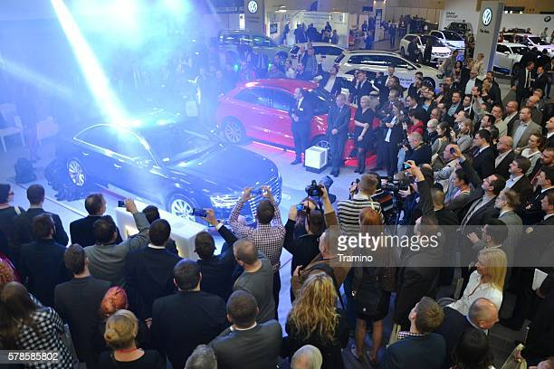 Premiere of the luxury vehicle on the motor show