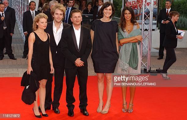 Premiere of the movie ''Michael Clayton'' by Tony Gilroy with George Clooney and Tilda Swinton in Deauville France on September 02 2007 Jury...