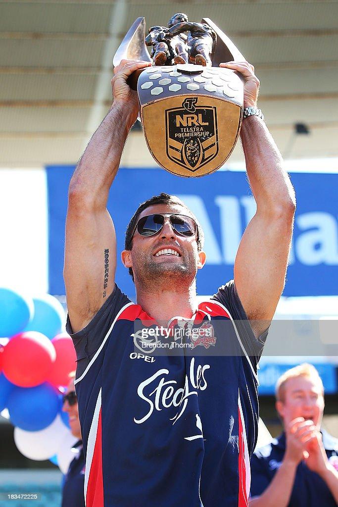Sydney Roosters Celebrate NRL Premiership