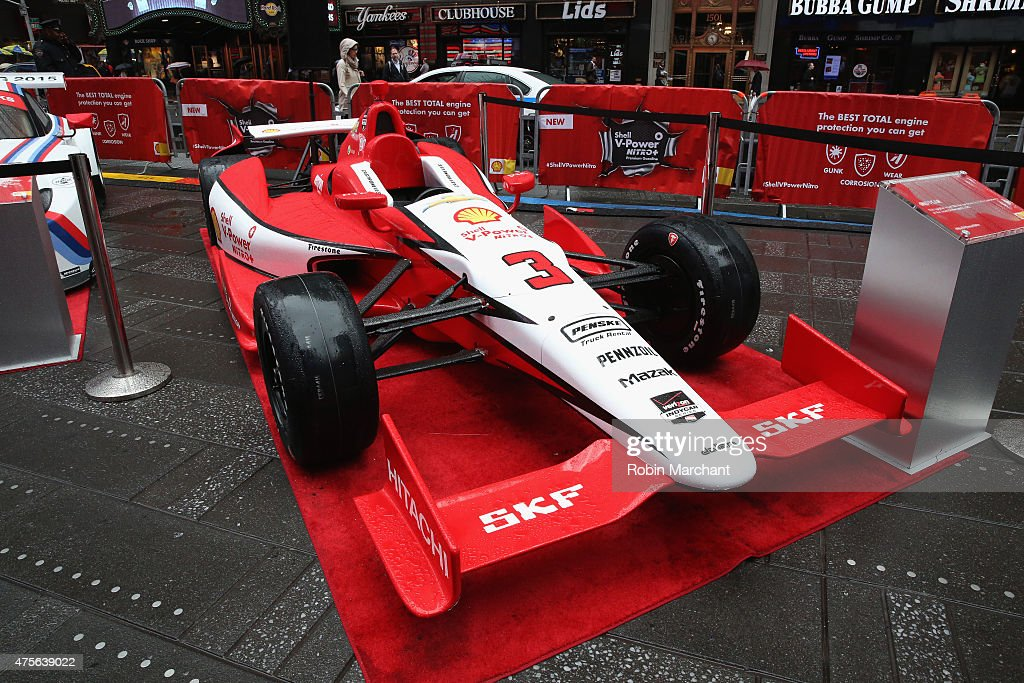 shell v power nitro launch event in times square getty images. Black Bedroom Furniture Sets. Home Design Ideas