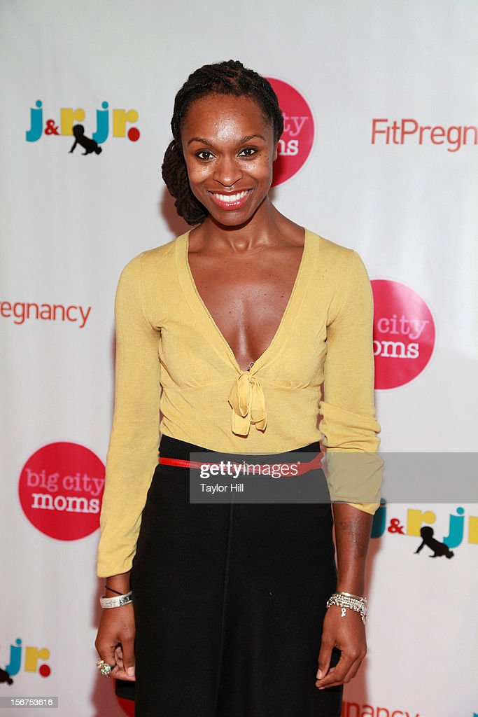Prenatal expert Latham Thomas attends the Big City Moms 14th Biggest Baby Shower at the Metropolitan Pavilion on November 19, 2012 in New York City.
