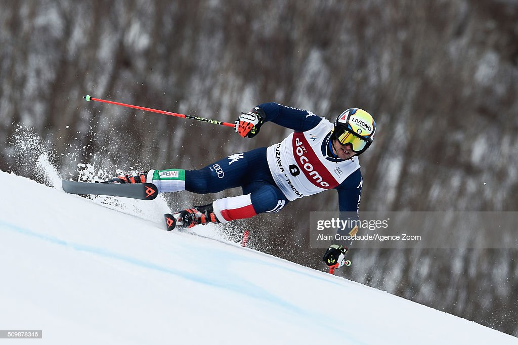 Prenom <a gi-track='captionPersonalityLinkClicked' href=/galleries/search?phrase=Roberto+Nani&family=editorial&specificpeople=6139488 ng-click='$event.stopPropagation()'>Roberto Nani</a> of Italy competes during the Audi FIS Alpine Ski World Cup Men's Giant Slalom on February 13, 2016 in Naeba, Japan.