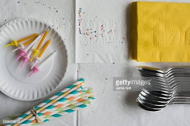 Preparation for birthday celebration