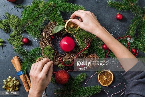 Preparation for Christmas : Stock Photo