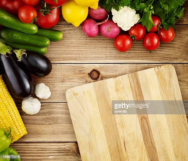 Preparation for dinner