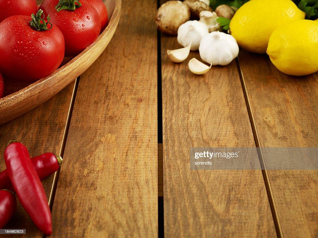 Preparation for dinner : Stock Photo