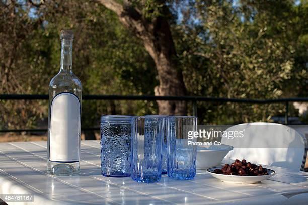 preparation of the aperitif