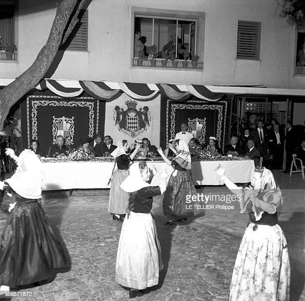 Preparation Wedding And Honeymoon Of Grace Kelly And Rainier Iii Of Monaco Palma de Majorque Mai 1956 Lors du voyage de noces du Prince Rainer DE...