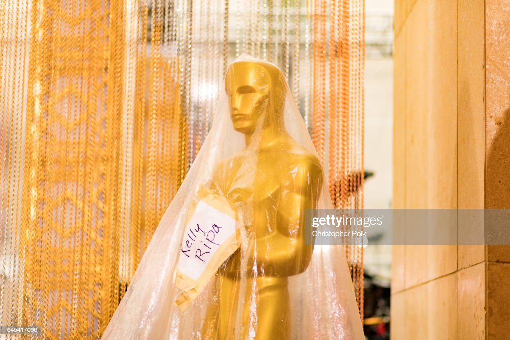 Preparations Continue for the 89th Annual Academy Awards at Hollywood And Highland Center on February 25, 2017 in Los Angeles, California.