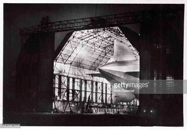Preparations for a night flight Zeppelin LZ 127 'Graf Zeppelin' 1933 The 'Graf Zeppelin' was the most successful airship ever built Between its first...